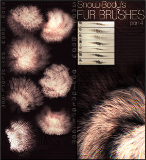 Brushes: Fur part: 4