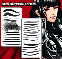 Snow's Brushes for Clip Studio Paint