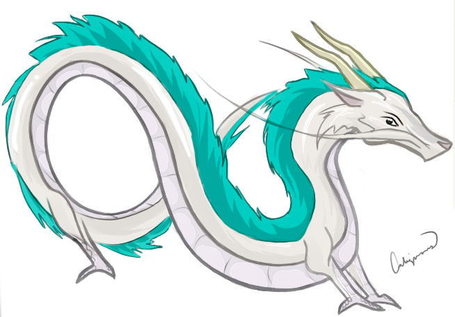 Spirited Away Dragon Haku By Caligiato On Deviantart