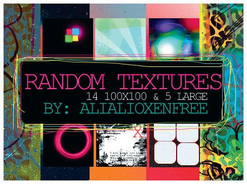 Random Textures by alialioxenfree