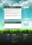 grass'n'sky blog, PSD incl.
