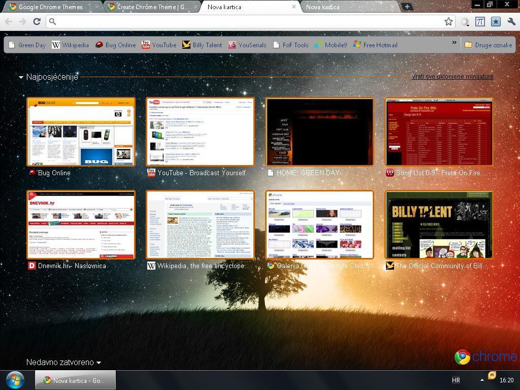 Google themes mobile9 - Sunset Google Chrome Theme By Wazzap9669