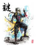 Sheik samurai/ninja process