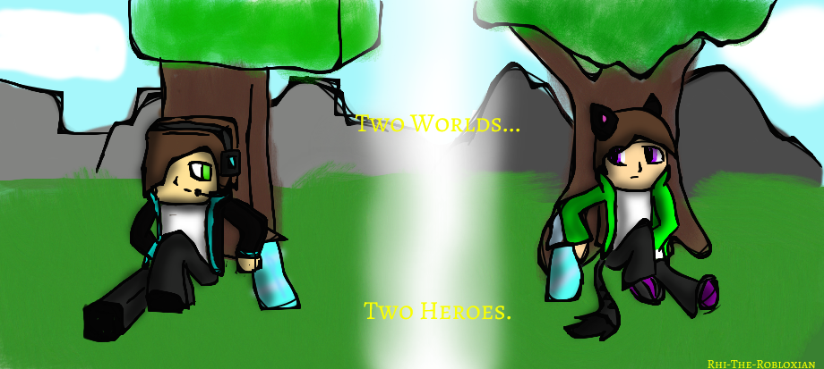 Roblox Minecraft Two Worlds Two Heroes By Rhi The Hybrid On