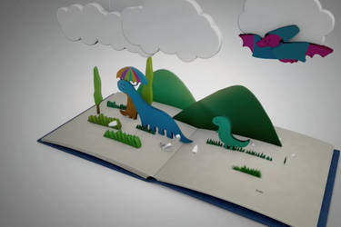 Dinosaurs PopUp Book