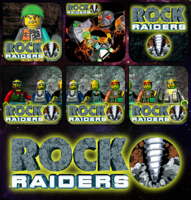 LEGO Rock Raiders Aicon Pack by AlphaPrime02 on DeviantArt