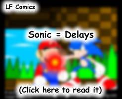 Sonic Delays by LegendaryFrog