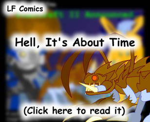 Hell, It's About Time by LegendaryFrog