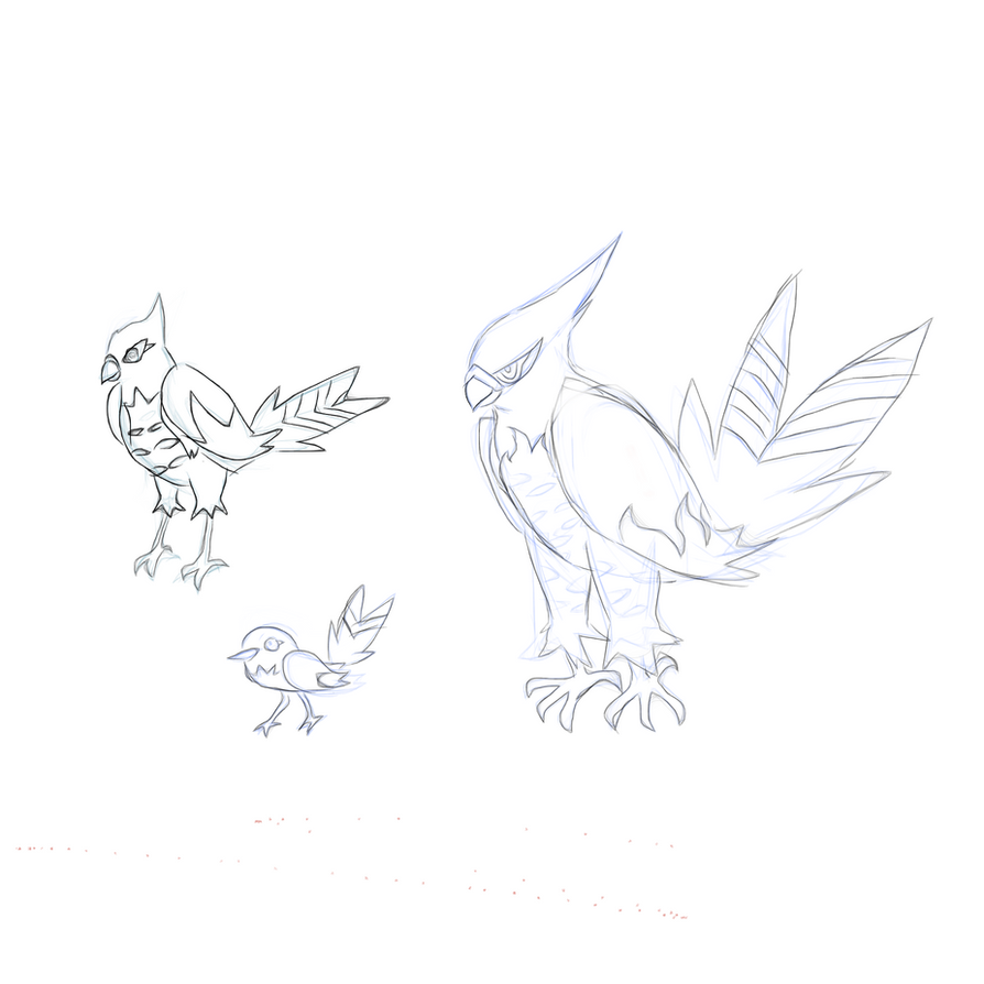 pokemon coloring pages talonflame nicknames - photo#8