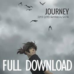 Journey: 2017-2018 Sketch Zine (full download) by Shi-Yin