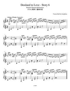 Ikemen Destined to Love - Story 6 Piano Sheets