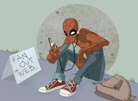 spider man by zaratus