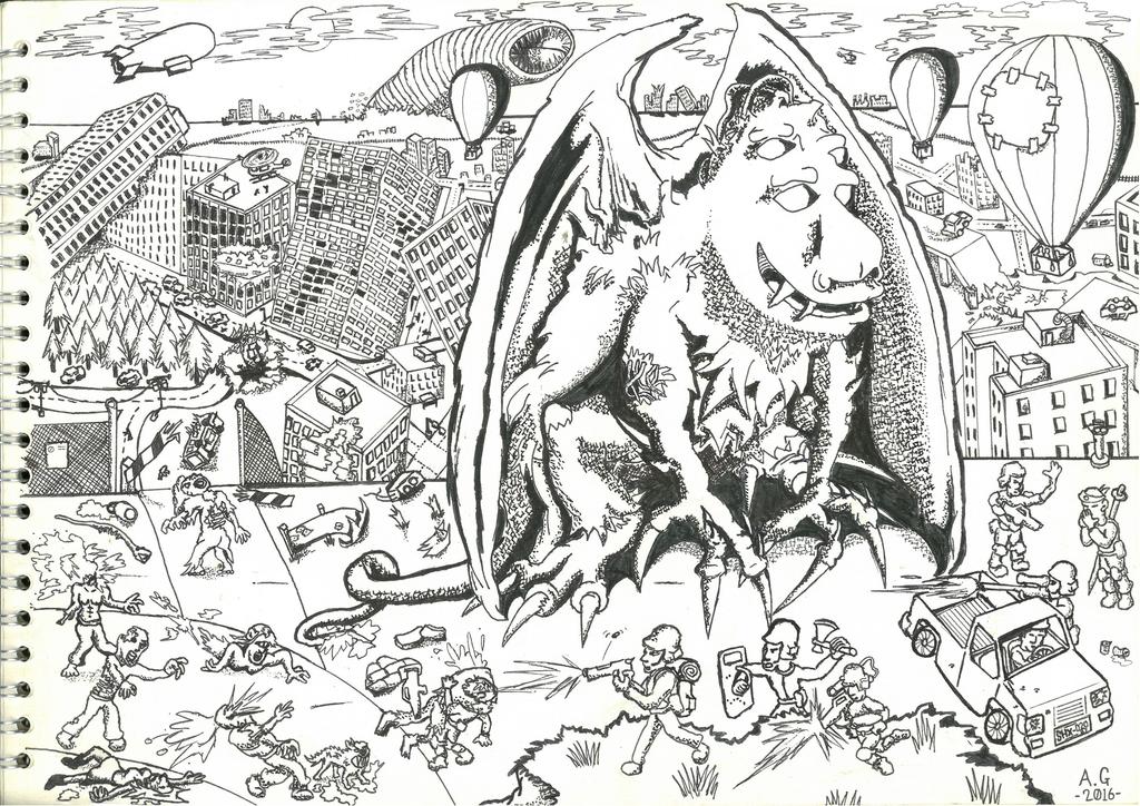 Gargoyle Mutation by bangerbishop