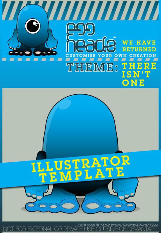 EggHeadz: Illustrator Template by EggHeadz