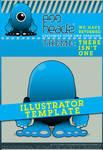 EggHeadz: Illustrator Template