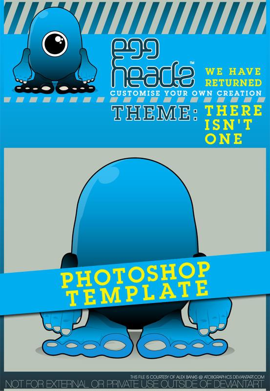 EggHeadz: Photoshop Template by EggHeadz