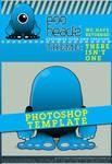 EggHeadz: Photoshop Template