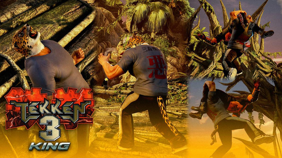 Tekken 3 Inspired T Shirt King By Mattplara On Deviantart