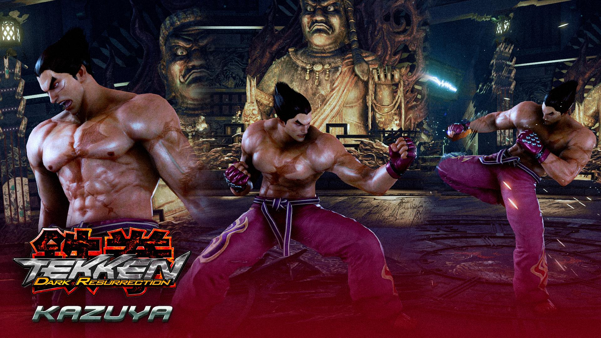 Tekken Dark Resurrection Kazuya Mishima By Mattplara On Deviantart