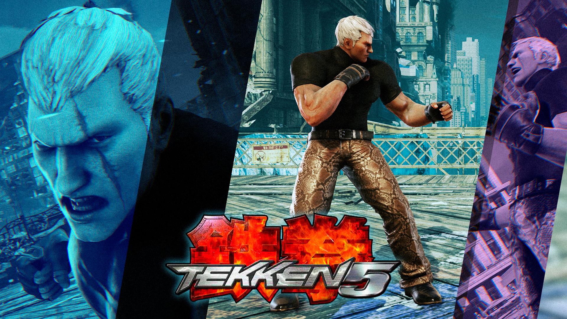 Tekken 5 Inspired Bryan Fury By Mattplara On Deviantart
