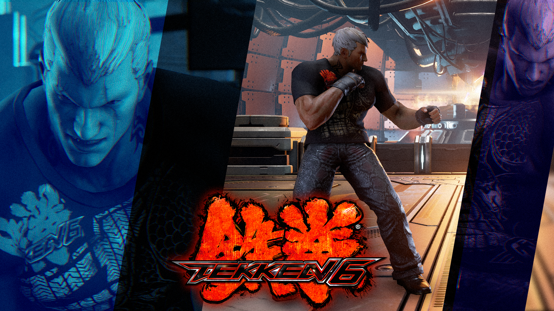 Tekken 6 Inspired Bryan Fury By Mattplara On Deviantart