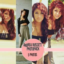 Andrea Russett Photoshoot Pack