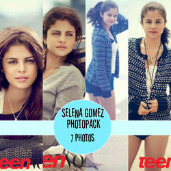 Selena Gomez Teen Vouge Photopack