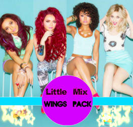 Little Mix Wings Photopack + PNG