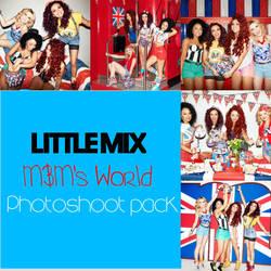 Little Mix HQ MandM's world Photoshoot Pack