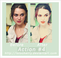 photoshop action set 4 by lolocherry