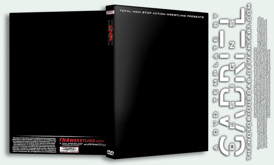 TNA DVD Template PSD