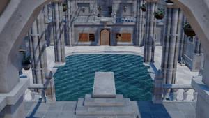 [MMD] Lara's Pool