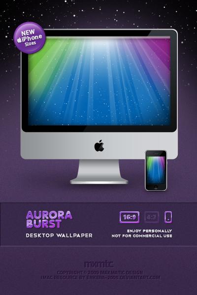 Aurora Burst by mgilchuk