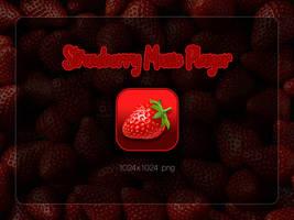 Strawberry Music Player Icon