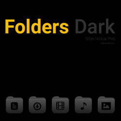 Folders Dark Icons