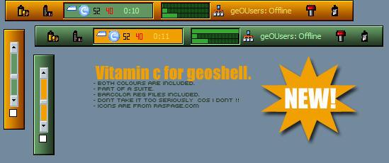 Vitamin c geoshell by burstnibbler