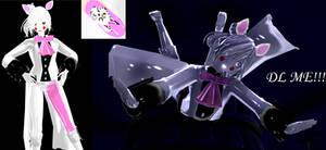 Female Toy Foxy (Mangle) MMD Model Download-UPDATE