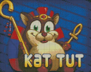[Peggle] Kat Tut by RoseXinh