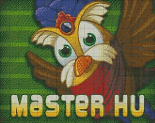 [Peggle] Master Hu by RoseXinh