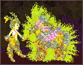 Satyr of Hermes by King-of-Monster-Gods