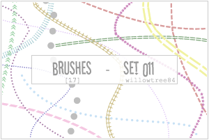 brushes - set 011 by willowtree84