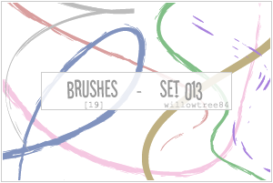 brushes - set 013 by willowtree84