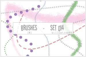 brushes - set 014 by willowtree84