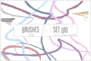 brushes - set 016 by willowtree84