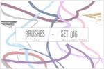 brushes - set 016
