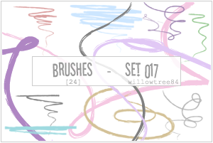 brushes - set 017 by willowtree84