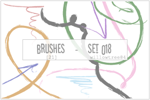 brushes - set 018 by willowtree84