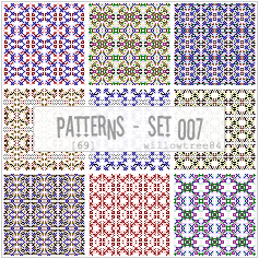patterns - pack 007 by willowtree84