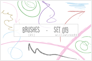 brushes - set 019 by willowtree84