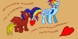 My Pony and Rainbow Dash